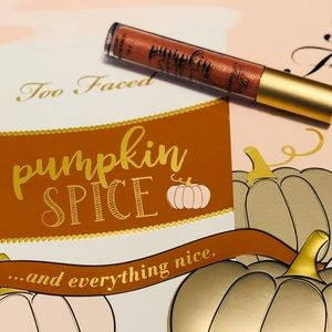 Too Faced Limited Edition Pumpkin Spice Lip Gloss